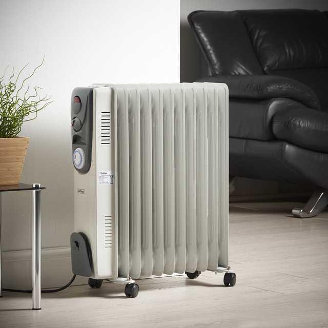 Масляные обогреватели для дома энергосберегающие, цены - как согреться без отопления зимой?