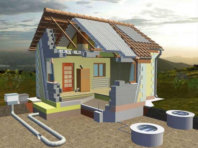 Пассивный энергосберегающий дом: раскрываем все секреты