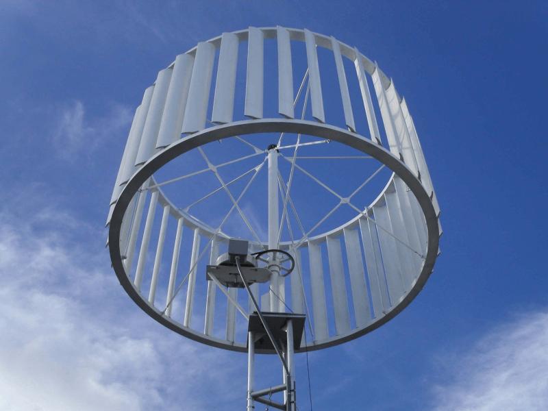 Использование ветрогенератора для слабого ветра - ротор Онипко