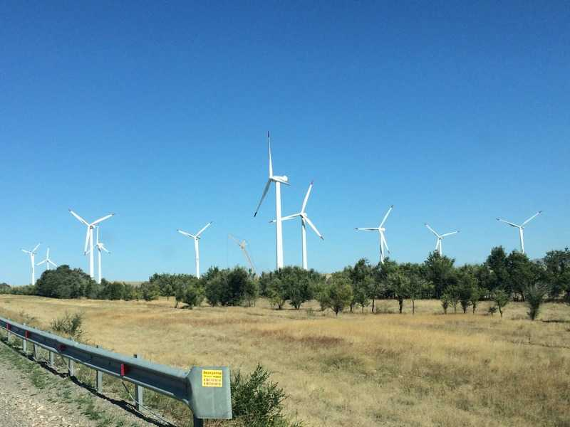 Развитые страны-лидеры по установленной мощности ветровых электростанций