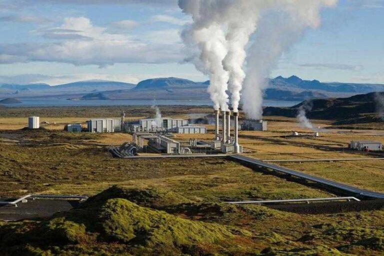 Геотермальная энергия, фото станции