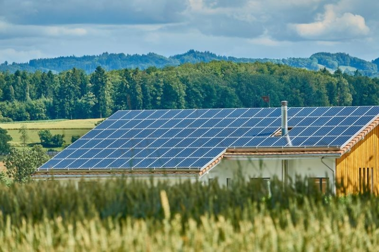 солнечные батареи, фото