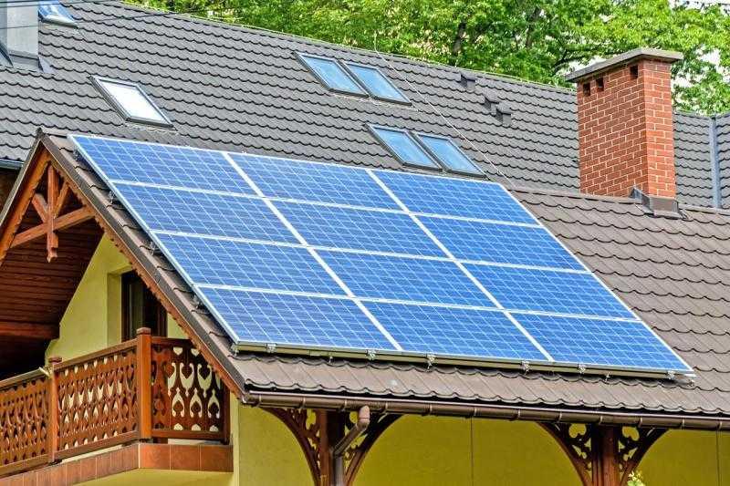 солнечные панели, фото