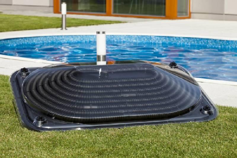 Солнечный нагреватель для бассейна